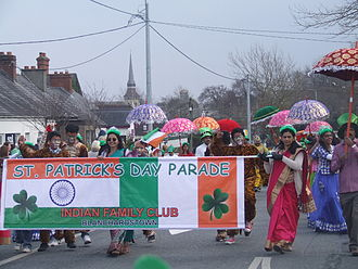 Clonsilla - Image: St Patricks's Day parade, March 2015, Blanchardstown