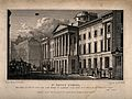 St Paul's School, London, England. Etching by W. Deeble afte Wellcome V0014815.jpg
