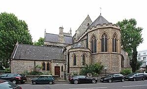 St Stephen's Church, Westbourne Park - Image: St Stephen, Westbourne Park