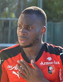 Stade rennais vs USM Alger, July 16th 2016 - Yacouba Sylla 5.jpg