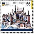 Stamp Germany 2002 MiNr2232 Bautzen.jpg