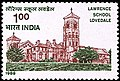 Stamp of India - 1988 - Colnect 165256 - Lawrence School Lovedale.jpeg