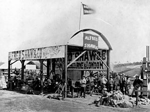 Brisbane Exhibition Ground - Alfred Shaw and Co.'s machinery exhibition at the Queensland Intercolonial Exhibition, 1876