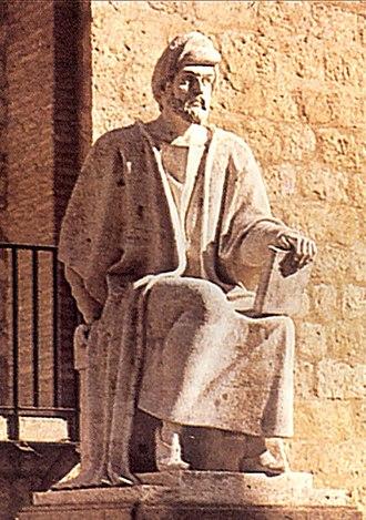 Muʿtazila - Image: Statue of Averroes (Córdoba) BAE09705