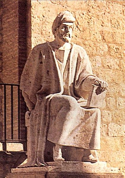 Datei:Statue of Averroes (Córdoba) - BAE09705.jpg