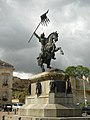 Statue of Guillaume le Conquérant in Falaise 2.JPG