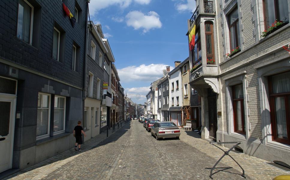 Stavelot (Belgium): Rue Neuve (New Street)