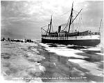 Steamship CORWIN at edge of ice with dogsled teams, Nome, June 1, 1907 (NOWELL 163).jpeg