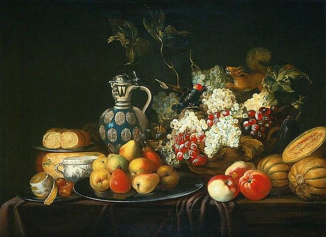 Ovocie bolo častou inšpiráciou pre maliarov