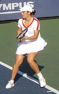 Stéphanie Cohen-Aloro French tennis player