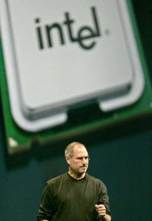 MacOS - Steve Jobs talks about the transition to Intel processors