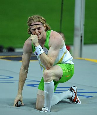 Steve Hooker - Hooker was emotional after victory at the 2009 World Championships
