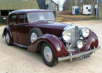 Bentley Mark V - Image: Stewart 002