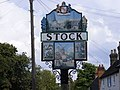 Stock Village Sign - geograph.org.uk - 924462.jpg