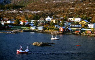 Harsvika - View of the village