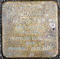 Stolperstein Hektorstraße 5 Johanna Goldschmidt.JPG