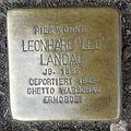 Stolperstein Herford Alter Markt 8 Leonhard Landau.JPG