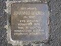 Stolperstein Johannes Becker, 1, Kastenalsgasse 13, Wesertor, Kassel.jpg
