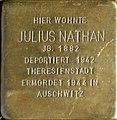 Stolperstein Köln, Julius Nathan (Brüsseler Straße 104).jpg