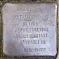Stolperstein Mittelweg 8-10 Mathilde Marx.jpg