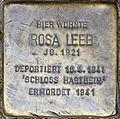 Stolperstein Salzburg, Rosa Leeb (Herrengasse 12).jpg