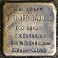 Stolpersteine Köln, Richard Rabuse (Ägidiusstraße 66).jpg
