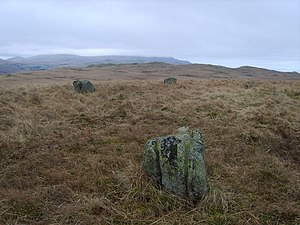 Burnmoor stone circles - Image: Stone Circle geograph.org.uk 1174563