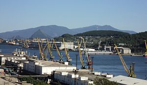 Nakhodka - Nakhodka Port, September 2010