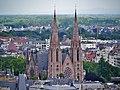 Straßburg Temple St. Paul vom Turm des Münsters.jpg
