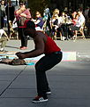 Street dancer, Place Georges-Pompidou, Paris April 2015 003.jpg