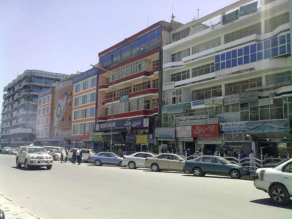 Street scene in Kabul-2012