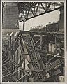 Structure used to support cables for Harbour Bridge, 1932 (8282686547).jpg