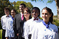 Students representing all departments of study at Les Roches Marbella.jpg