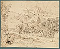 Study of a Palm Tree (recto); Mountain Landscape (verso) MET 2002.39b.jpg
