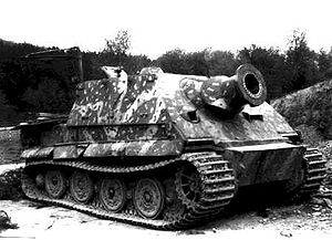 Sturmtiger - Captured Sturmtiger, April 1945