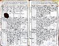 Subačiaus RKB 1827-1830 krikšto metrikų knyga 028.jpg