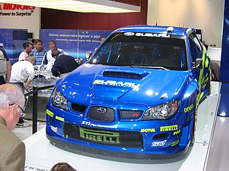 2006 Paris Motor Show - Subaru WRX STI at Paris 2006