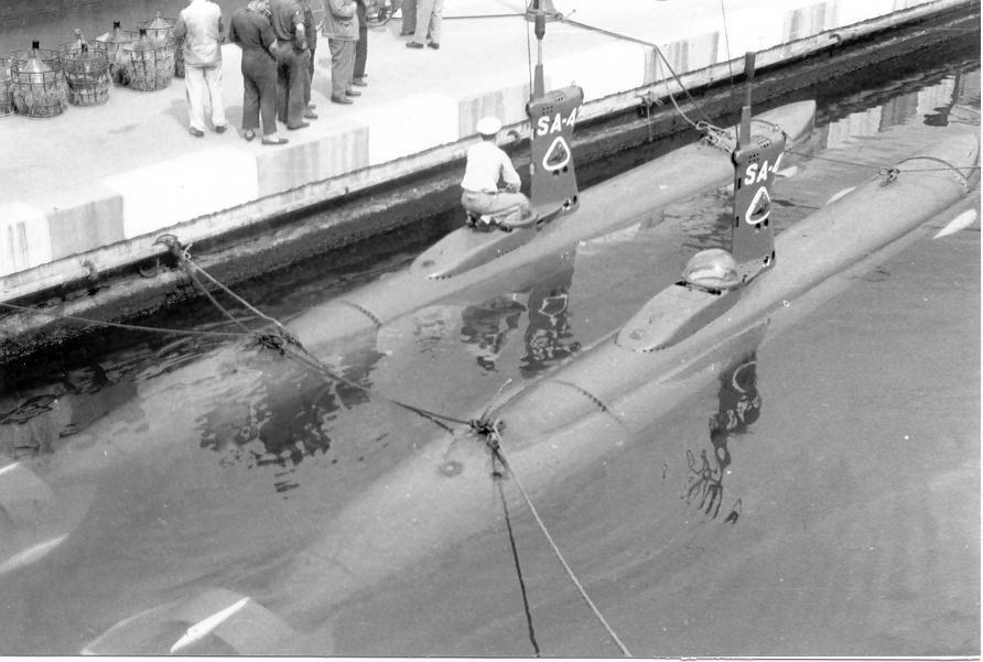 Submarinos de ataque clase foca SA41