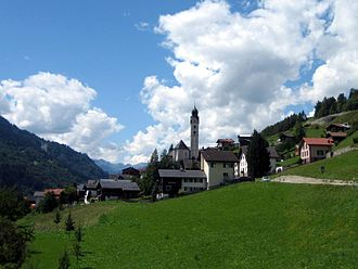 Sumvitg - Image: Sumvitg Dorf