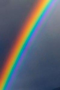 colorenhanced rainbow