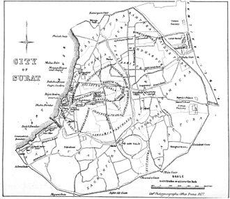 Surat - Surat in 1877