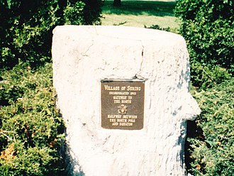 Suring, Wisconsin - Image: Suring Wisconsin Marker 1993