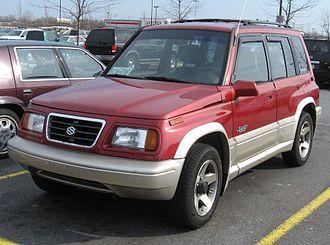 Suzuki Vitara - Suzuki Sidekick Sport 5-door (US)