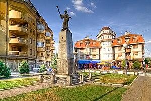 Svilajnac - Spomenik Mare Resavkinje Statue of Mara of Resava