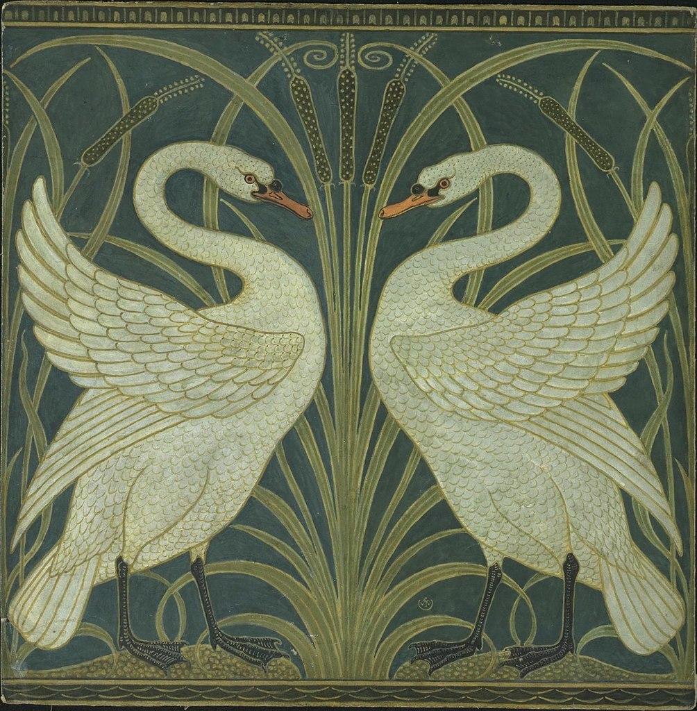 iris wallpaper walter crane jpg