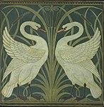 Swan and Rush and Iris wallpaper Walter Crane.jpg