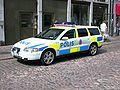 Swedish patrol car new livery.JPG