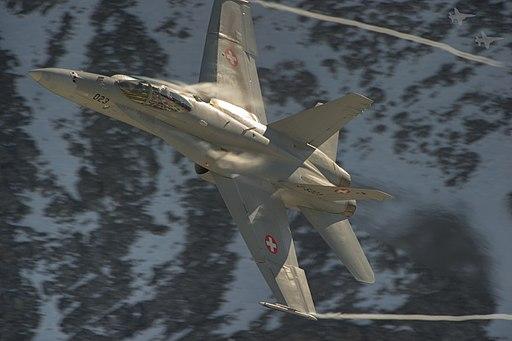 Swiss F A-18 Hornet (6240073189)
