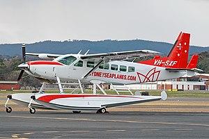 Sydney Seaplanes Cessna 208 Caravan CBR Gilbert.jpg