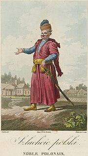 Польский шляхтич в сарматском костюме
